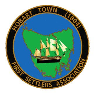 Hobart Town (1804) First Settlers Association logo